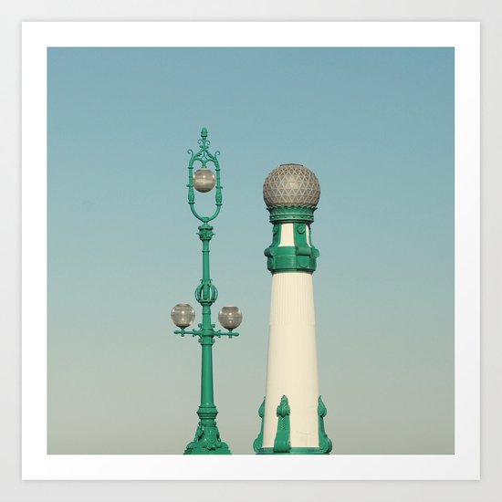 Kursaal Bridge No.2 Art Print