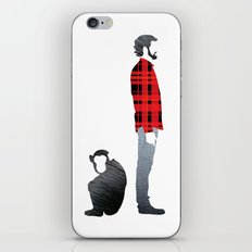 Distant relatives iPhone & iPod Skin
