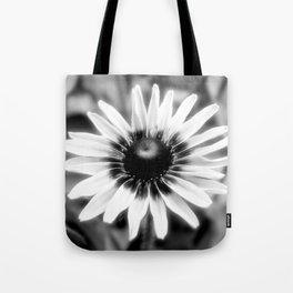 Flower - Black & White Tote Bag