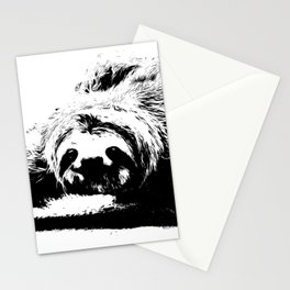 A Smiling Sloth Stationery Cards