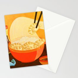 Dumpling Mania Stationery Cards