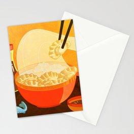 Dumpling Mania Stationery Cards