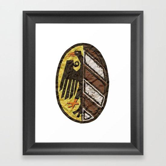 Nuremberger Wappen Framed Art Print