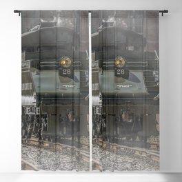 Baldwin Locomotive Works Steam Engine 26 Vintage Train Steamtown Scranton Pennsylvania Blackout Curtain
