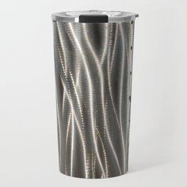Wavy metal waves Travel Mug