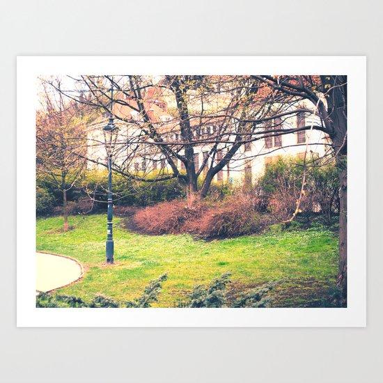 In Park Art Print