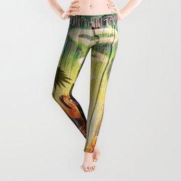 mojito beach style 1 Leggings