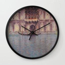 The Palazzo Contarini, Venice Wall Clock