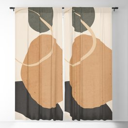 Abstract Art / Shapes 38 Blackout Curtain