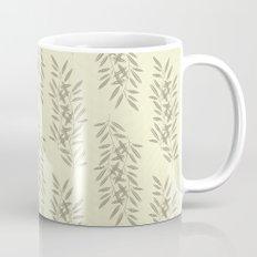 Linen Leaves Mug