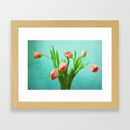Delightful Display Framed Art Print