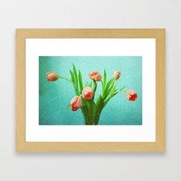 Delightful Display Framed Art Print