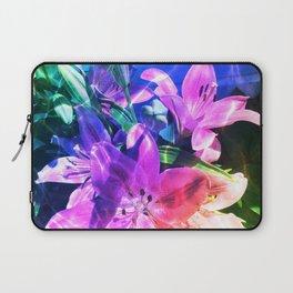 Rainbow flowers Laptop Sleeve