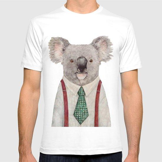 Koala T-shirt by Animal Crew | Society6