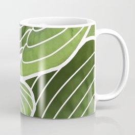 Hosta Detail Coffee Mug
