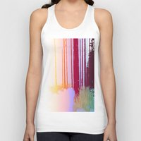 forrest Tank Tops featuring Color Forrest by Darla Designs
