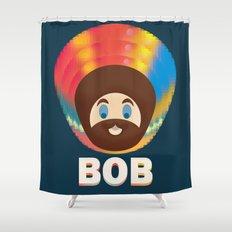 Bob is Magic Shower Curtain