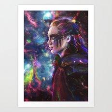 she's the star Art Print