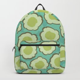 Green Eggs Floral Backpack