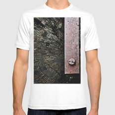 Wooden Energy Mens Fitted Tee White MEDIUM