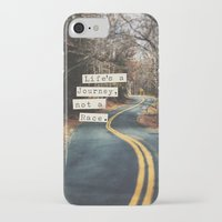 journey iPhone & iPod Cases featuring Journey by Brandy Coleman Ford