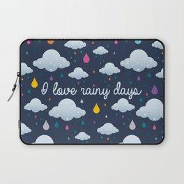 I love Rainy Days Laptop Sleeve