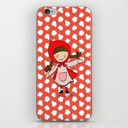Caperucita Roja iPhone Skin