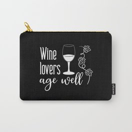 Red Wine Wine Drinker White Wine Wine Heritage Carry-All Pouch