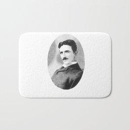 Nikola Tesla Bath Mat