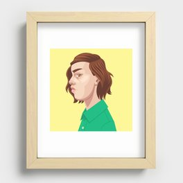Profile 001 Recessed Framed Print