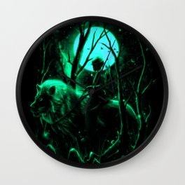 The Hunter Wall Clock