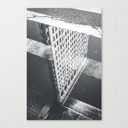 Flat Iron Building - NYC Reflection Canvas Print