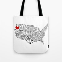 oregon Tote Bags featuring Oregon by Taylor Steiner