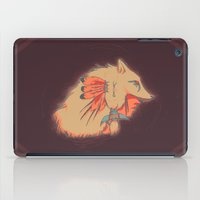 headdress iPad Cases featuring Headdress by dezfez