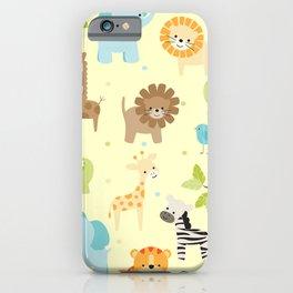 Jungle Animals iPhone Case