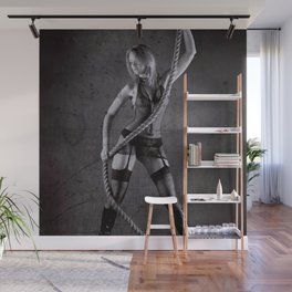 Lingerie and Rope Wall Mural