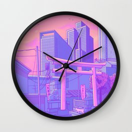 Roppongi Light Wall Clock