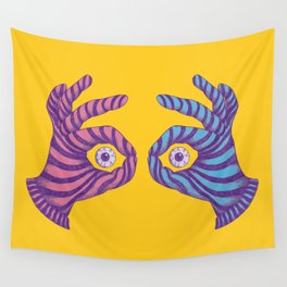 Thief Eyes Wall Tapestry