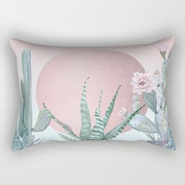 Desert Sunset by Nature Magick Rectangular Pillow