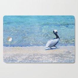 Strutting Pelican Cutting Board