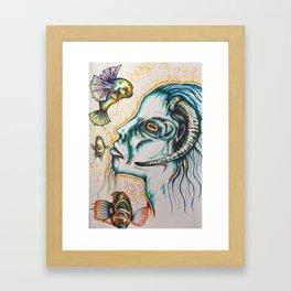 Hybrid Goat Framed Art Print