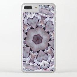 Hearts (from a fresh catch of Calamari in Goa) Clear iPhone Case