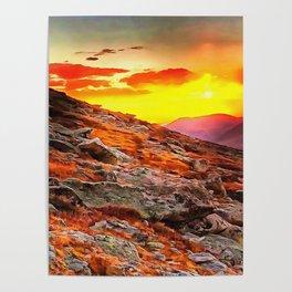 Mount Evans Poster