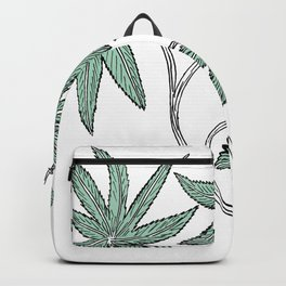 Feather Flower #2 Backpack