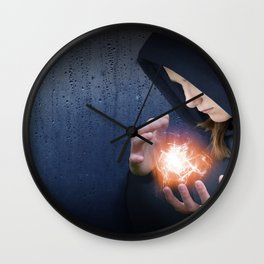 Theonite: Planet Adyn Cover Art Wall Clock