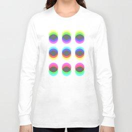 CMYK in RGB Circles Long Sleeve T-shirt