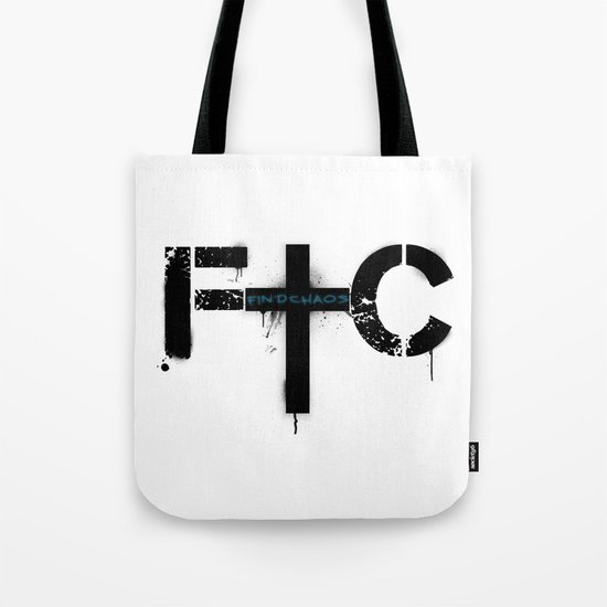 FindChaos - Logo Tote Bag