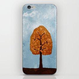 Autumn Grunge iPhone Skin