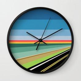 """Moment #15"" Montana Gold Spray Paint on Birch Panel 16″ x 16″ x 1.5"" *Original Sold. Wall Clock"