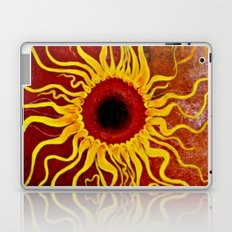 Psychedelic Susan 001, Sunflowers Laptop & iPad Skin